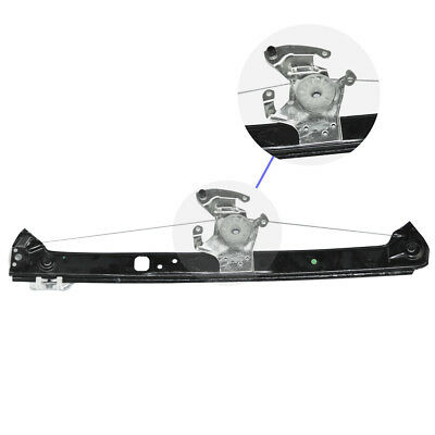 Rear Passengers Side Power Window Regulator Without Motor For 2000-06 BMW E53 X5