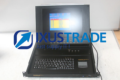 ATEN MASTER VIEW MAX 15Inch LCD RACK MOUNT 8 Port KVM Switch (ACS-1208AL/USED)