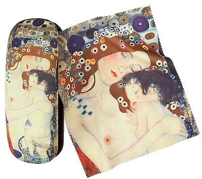 Brillenetui Set Klimt - Mutter mit Kind von Artis Vivendi