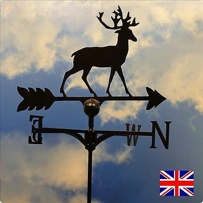 High Quality British Made Stag Weathervane in 2 Sizes & Designs(86)
