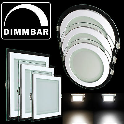 deckenleuchte led panel dimmbar schlafzimmerlampe leuchte farbwechsel k che flur eur 39 99. Black Bedroom Furniture Sets. Home Design Ideas