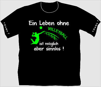 Volleyballshirt Volleyball T-Shirt Trikot Beach Turnier Netz Trainingslager 30
