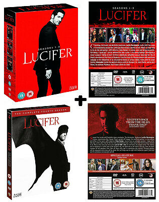 LUCIFER 1-3 (2016-2018) Devil+Police Comedy-Drama TV Season Series R2 DVD not US