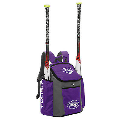Louisville Slugger Series 3 Stick Pack Baseball/Softball Backpack - Purple