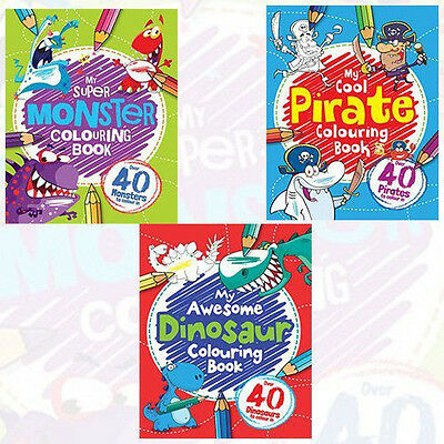 My Awesome Colouring Book 3 Books Collection Set NEW My Super, My Cool Paperback