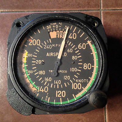 Aeromarine True Airspeed, AS-391A,  pn 541-B-712, from 40 to 250kts