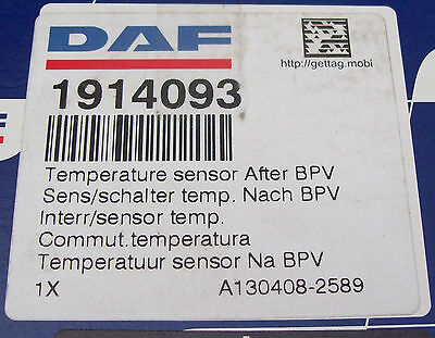 DAF TRUCK CF 85 Genuine New Temperature Sensor 1914093
