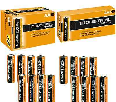 Duracell AA AAA Industrial Battery MN1500 MN2400 Alkaline Replaces Procell