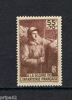 Cl - Timbre De France N° 386 Neuf Luxe **
