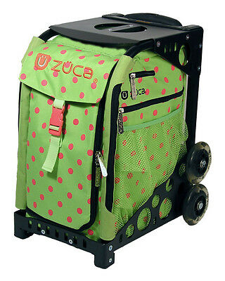 NEW ZUCA INSERT ONLY ( NO FRAME INCLUDED) LIME & POLKA DOTS spotz