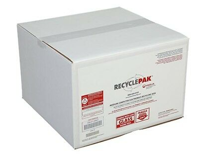 Veolia SUPPLY-197 Medium Electronics Recycling Box With Prepaid Return Shipping