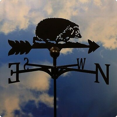 High Quality British Made Hedgehog Weathervane in 2 Sizes & Finishes.(85)