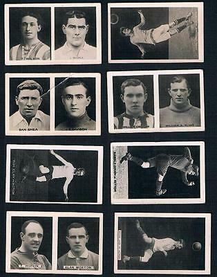 1922 Magnet Library Photo of A Famous Footballer Lot of 11 Cards