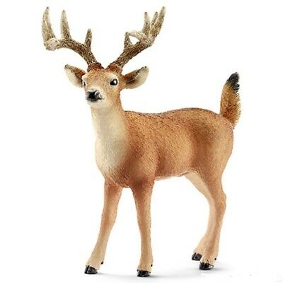 White Tail Buck 14709 strong tough looking Schleich Anywhere's Playground