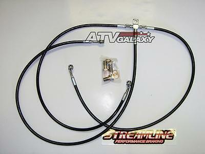 Streamline DB121-F Stainless Steel Braided Front Brake Line