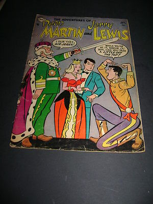 1954 The Adventures Of Dean Martin And Jerry Lewis #14  Sir Jerry?
