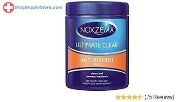 Noxzema triple clean antiblemish pads with medicated salicylic acid - 90 ea