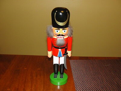 Veb Hodrewa Rothenthal Germany GDR Nutcracker w/Sword