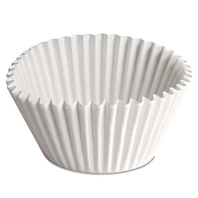 Hoffmaster (Hfm610070) Fluted Bake Cups 2 1/4 Dia X 1 7/8H Wht 500/pk 20 Pack/ct
