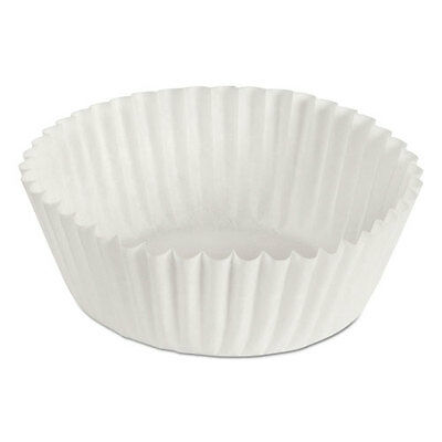 """Hoffmaster® Fluted Bake Cups 1 1/8"""" X 1 1/8"""" X 1 3/4"""" White 500/pack 20 Packs/ct"""