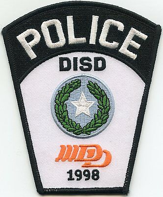 DUMAS Independent School District ISD TEXAS TX POLICE PATCH