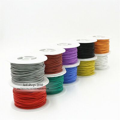 26AWG Flexible Stranded of Multi Color Silicone Wire Electronic RC Auto Cable