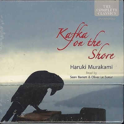 Haruki Murakami Kafka On the Shore unabridged audiobook CD 15-disc NEW