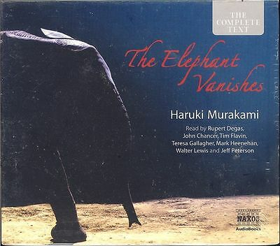 Haruki Murakami The Elephant Vanishes audio book NEW Complete text Naxos edition