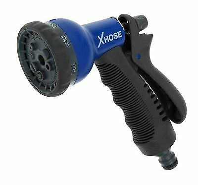 Genuine X Hose Spray Gun Nozzle with 8 Modes Fits Standard Hoses as Well