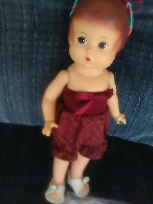 "1999 Patsy Effanbee Doll  HARD VINYL 13"" LOOKs LIKE ASHTON DRAKE COLLECTIBLE"
