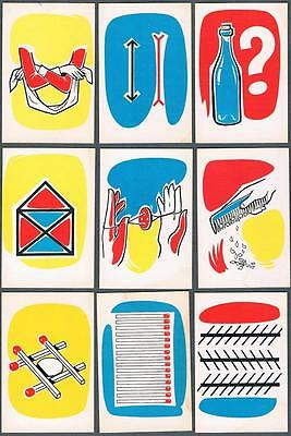 1950's V427-2 Magic Tricks Goodies Products Trading Cards Complete Set of 50