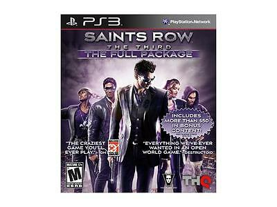 SAINTS ROW 3 w/DLC (full pkg) (PlayStation 3) - $45 41