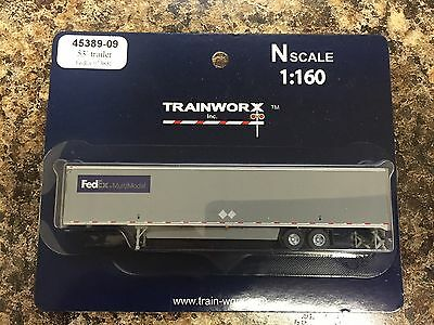 Trainworx N 53' Trailer FedEx Multimodal