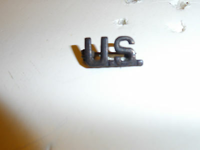 b1513 WWI US Army  Officer's US Collar Insignia for shirt or cap single