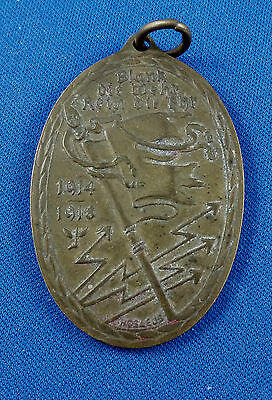 germany bronze medal fob Kyffhauser Union 1914 / 1918