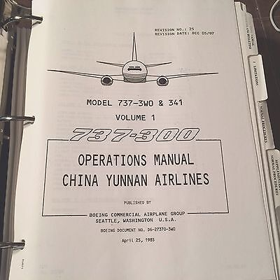 boeing 737 operations manual 20 00 picclick uk rh picclick co uk b737-800 operation manual b737 operating manual pdf