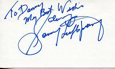 Sammy Luftspring Canadian Boxer Welterweight Boxing Signed Card Autograph