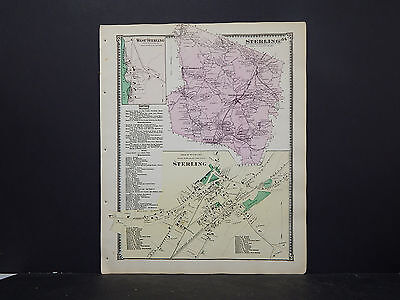 Massachusetts, Worcester County Map 1870 P2#75 Sterling