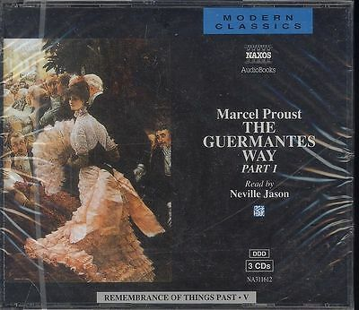 Marcel Proust The Guermantes Part 1 audio book CD NEW Remembrance of Things Past