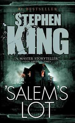 Salem's Lot by Stephen King (English) Mass Market Paperback Book