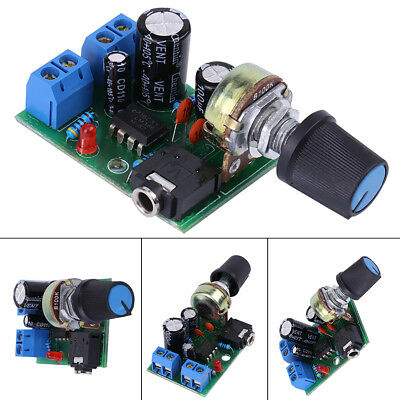 Brand New 1 * LM386 Super MINI Amplifier Board 3V-12V Power Amplifier