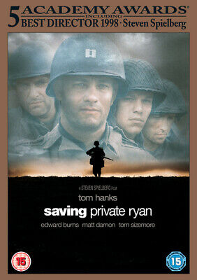 Saving Private Ryan DVD (2000) Tom Hanks, Spielberg (DIR) cert 15 Amazing Value