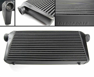 FMIC FFRONT MOUNT TURBO INTERCOOLER 600x300x76MM BLACK