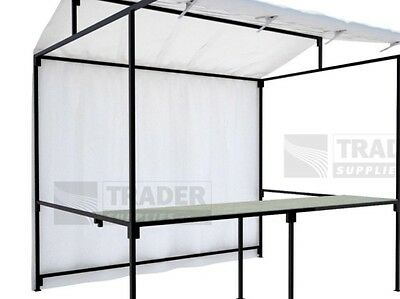 MARKET STALL- 6ft X 6ft STALL WITH TARPAULIN,CLIPS, HOOKS,GRIDWALLS  JOBLOT USED