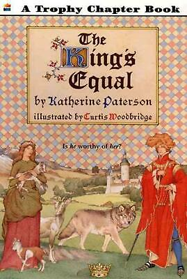 The King's Equal by Katherine Paterson (English) Paperback Book Free Shipping!