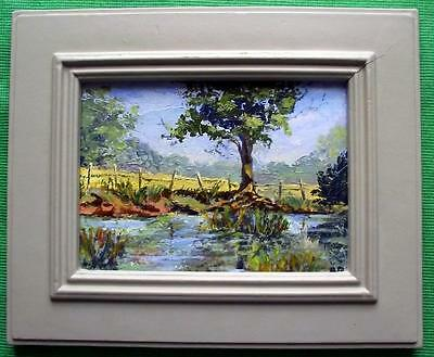 Letts Green Kent : Original Framed Impressionist Oil Painting by Brian Rimmer