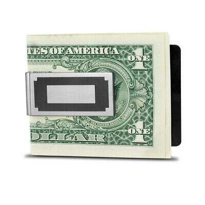 Seville Slim Money Clip - Silver