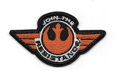 Star Wars The Force Awakens Movie Join The Resistance Logo Embroidered Patch NEW