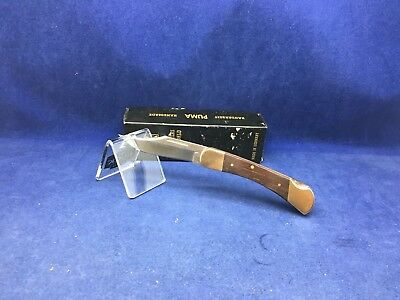 1997 Vintage Puma 960 Cub Knife Jacaranda Wood Handles  Mint In Box #75