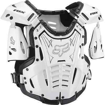 Fox Racing AIRFRAME Roost Deflector Guard Protector MX ATV Off Road Moto WHITE